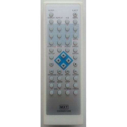 Controle Remoto DVD SVA D2088  D1088