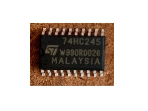 Circuito integrado 74HC245 SMD Estreito  20 Pinos  original
