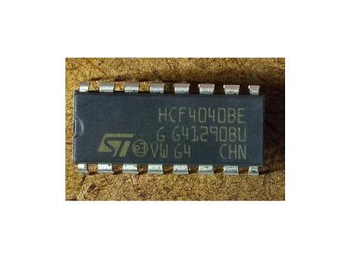 Circuito integrado HCF4040B 16 pinos original