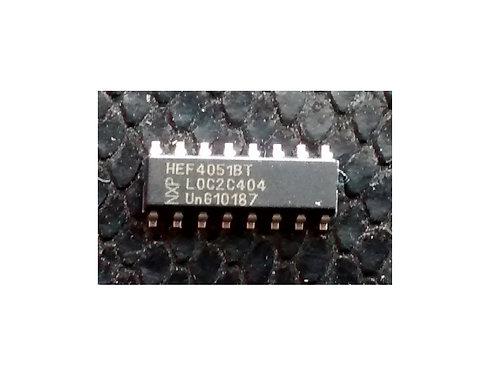 Circuito Integrado HEF4051BT SMD original