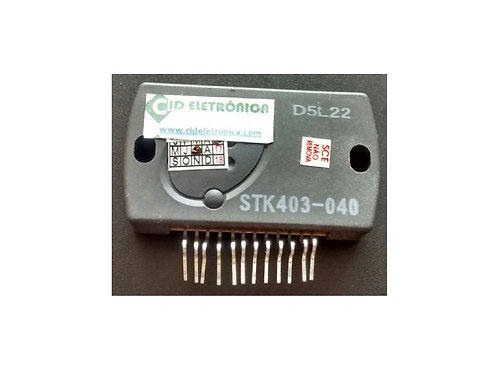 Circuito integrado STK403040 original