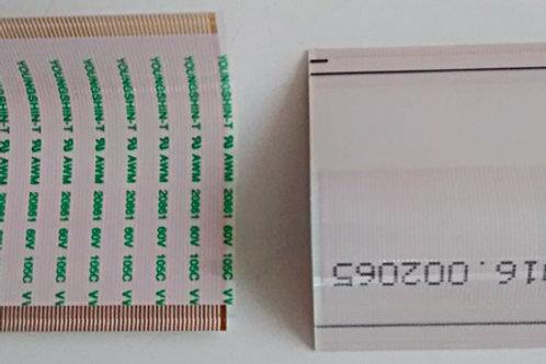 Cabo flat TV Samsung LN32C530F1MXZD da Placa Tecon para tela