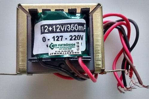 Transformador 1212V 350mA 110  220V AC  Marca Gilson