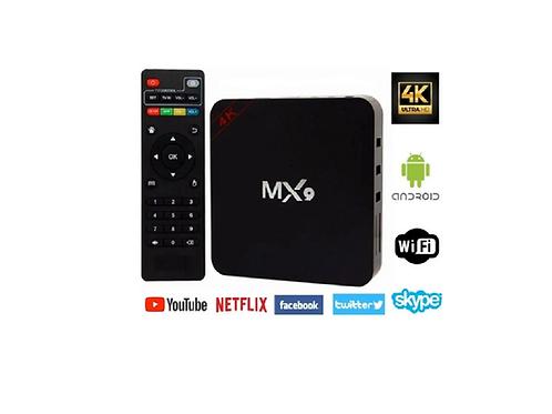 TV Box Hd Android 4K ULTRA HD H.265 HEVC /  DDR2G / FLASH 16G Wifi Smart Tv Iptv