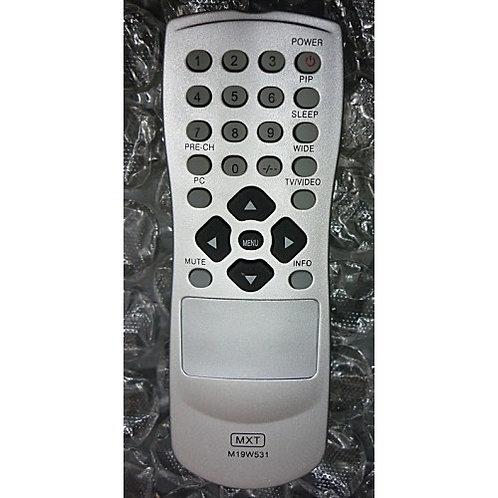 Controle Remoto TV AOC LCD modelo M19w531 e outros modelos