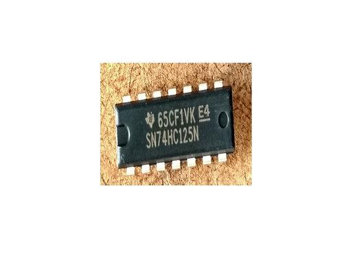 Circuito integrado SN74HC125N 14 pinos original