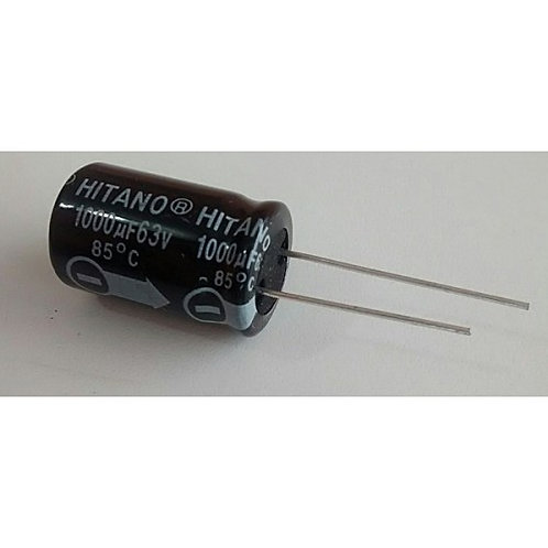 Capacitor Eletrolitico 1000 x 63V  85