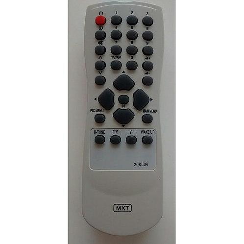 Controle remoto TV PANASONIC MODTC 20KL04  TC 29KM04