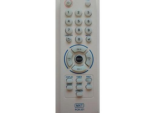 Controle remoto TV Philco PCR201 modelos Pcr201tp2920 tpf2130