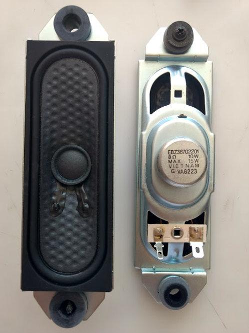 Alto falante TV LG 32PC5RV codigo EBZ38702201 PAR