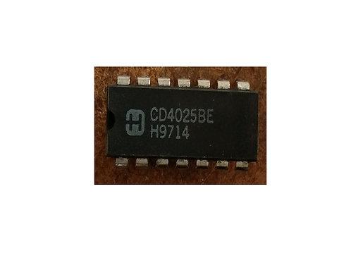 Circuito integrado CD4025BE original
