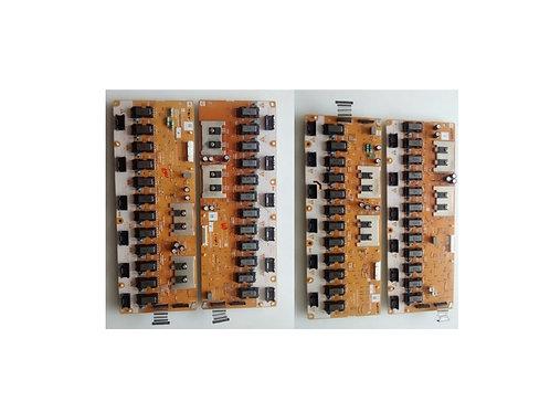 Conjunto de placa Inverter Lg 52lb9rfb  preco com as quatro placas inverter