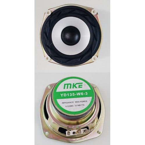 Alto falante com suspensao 55  6 ohms  30W prata  marca MKEG167