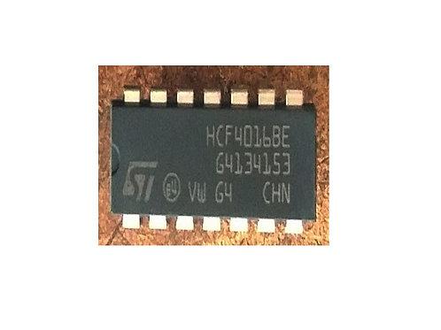 Circuito integrado HCF4016  CD4016 14 pinos original