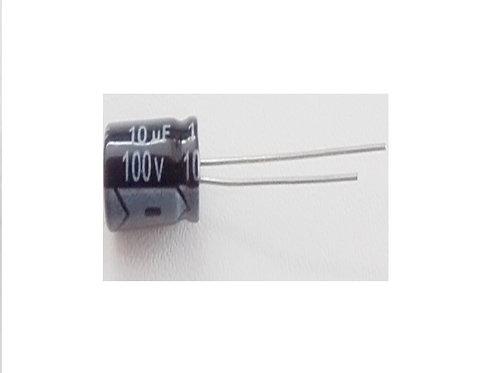 Capacitor Eletrolitico 10UF X 100V  105