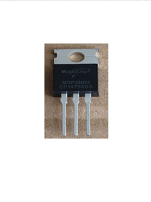 Transistor MDP4N60  Pequeno   Original