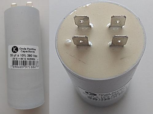 Capacitor motor Permanente c Terminau 35uf X 380vac