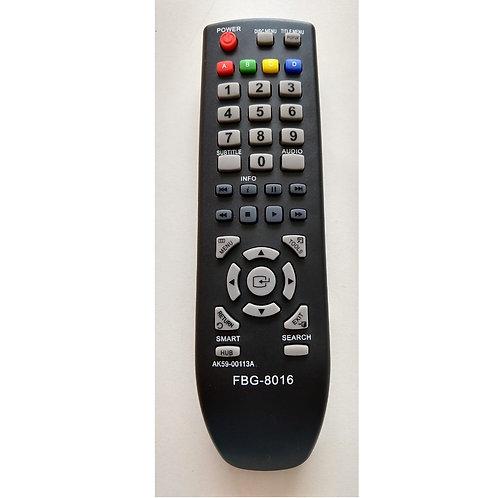 Controle Remoto DVD Bluray Samsung Bdd5100  Bdd530  D5500  Ak5900133a  FBG8016