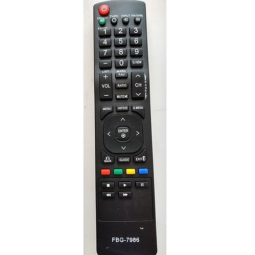 Controle remoto  LCD TV LG FBG7986  FBG8820
