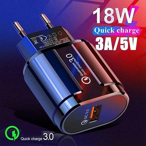 Carregador celular Sansung rapido Turbo 3,0 / 5V / 3AM -100 A 220V original