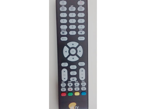 Controle Remoto receptor Oi TV  Elsys TV livre HD ETRS27  ETRS35  ETERS37