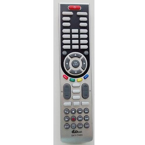 Controle remoto Receptor Digital Dualsat LE  Boxprime7050  SKY7489