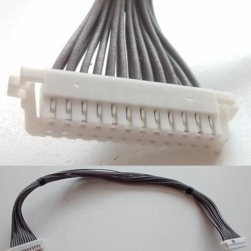 Chicote 24 vias cabo da placa Fonte para placa Principal da TV led LG 32LS3400