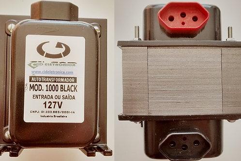 Auto Transformador Entrada Bivolt  saida 127V por 1000VA  2X075