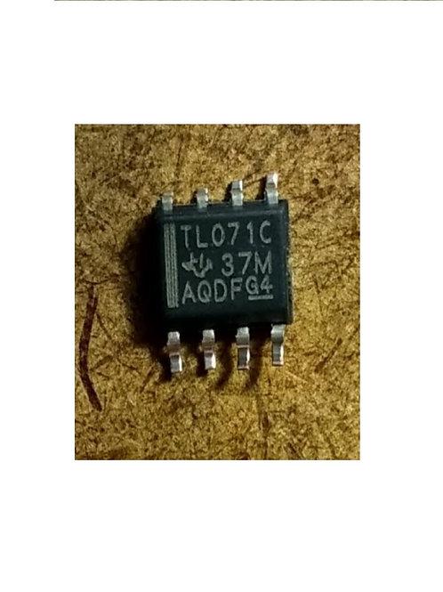 Circuito integrado TL071C SMD 8 pinos original