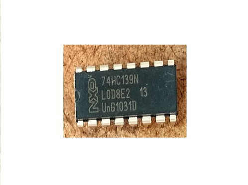 Circuito integrado 74HC139N 16 pinos original