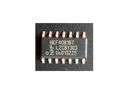 Circuito integrado HEF4081 SMD original