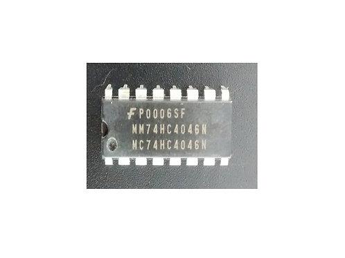 Circuito integrado MC74HC4046N 16 pinos
