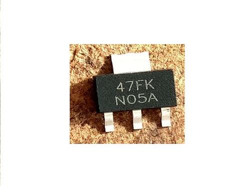 Circuito integrado LM1117 3V3 47FK SMD original