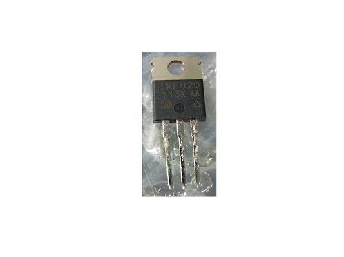 TRANSISTOR MOSFET IRF820 25A 500V 3000 Ohm  Original