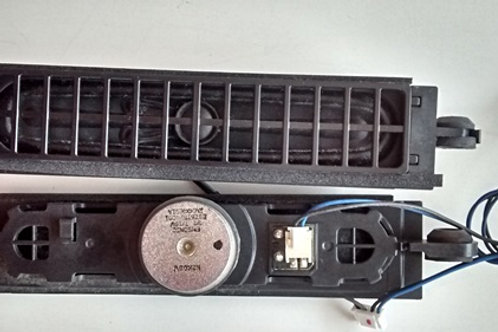 Alto Falante TV led LG 32LS3400 8ohms 710W codigo EBZ61520001 20cmx35cmx3cm
