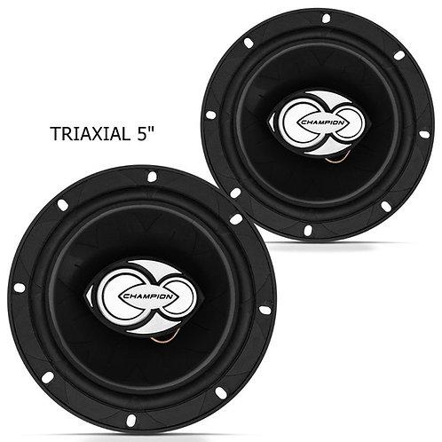 Alto Falante triaxial TRX500  kit Par 5100W RMS 4 homs  marca Champion