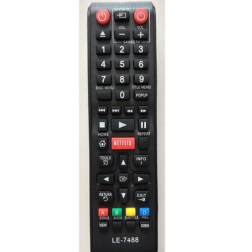 Controle Remoto TV Samsung  C Botao Netflix  LE 7488  Ak5900133a