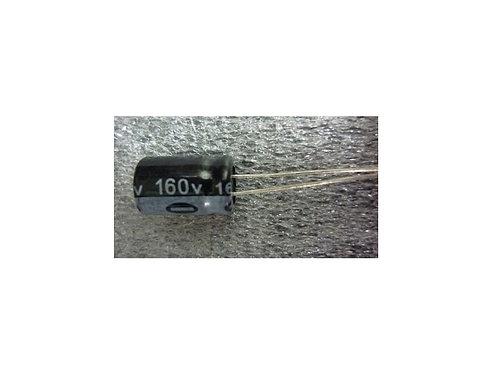 Capacitor Eletrolitico 10uf x 160V  105