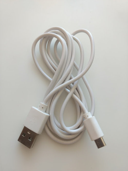 Cabo USB AM X USB Micro 5P  V8 150 mt  Branco