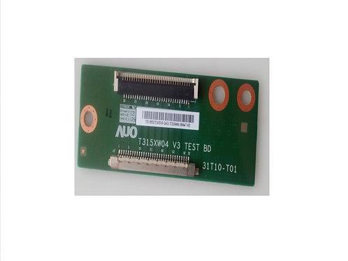 Placa para conectar os cabos da TV 32 HBuster HBTV32D05HD  codigo T315XW04
