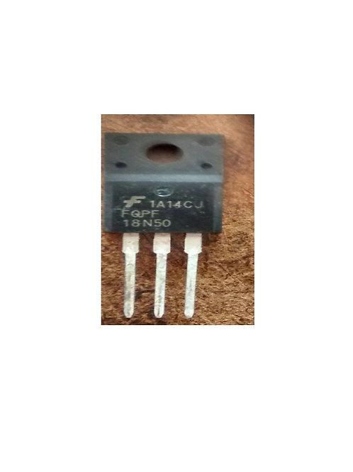 Transistor FQPF18N50 Mosfet Fdp To220f  Forma TIP Ensolado