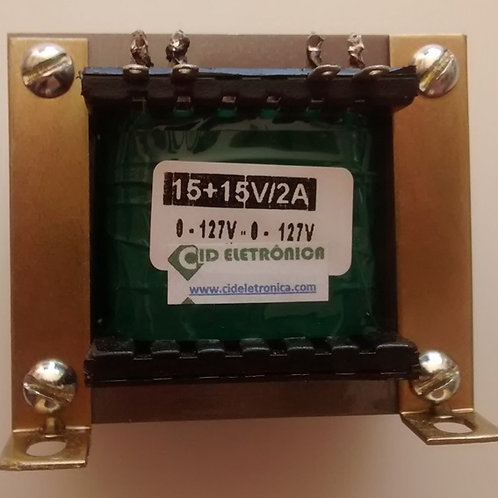 Transformador Forca  1515V 2A 110  220V AC  Marca Gilson