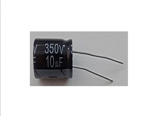 Capacitor Eletrolitico 10UF X 350V