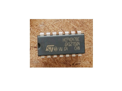 Circuito integrado HCF4047 BE  CD4047 14 pinos original