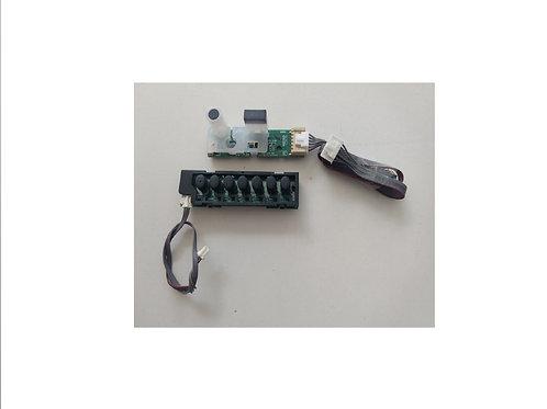 Teclado e placa de sensor TV Semp Toshiba 40L1500