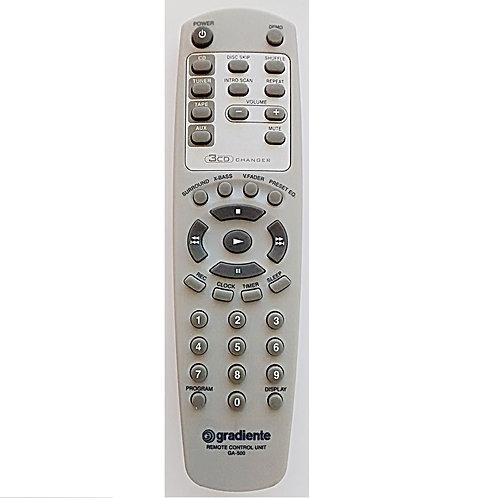 Controle remoto SOM GRADIENTE  GA500  ASM300  320  450  470  original