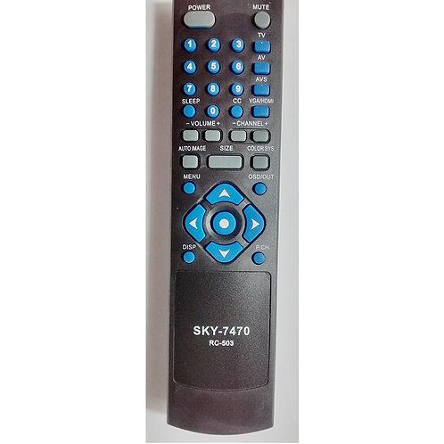 Controle remoto TV CCE LCD  LED SKY7470  MOD RC503 e outros modelos