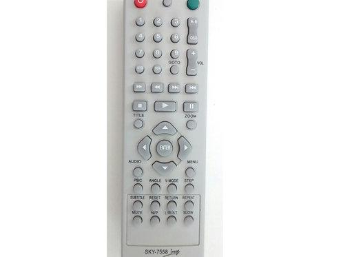 Controle Remoto DVD Britania Fama 3 SKY7558  Modelos DVD Diplomata 285