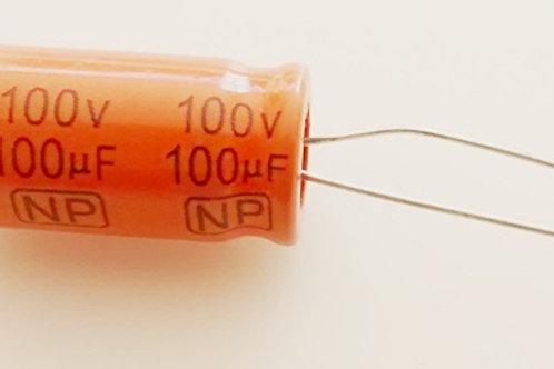 Capacitor Bipolar 100 X 100V 105C  Driver  16x26