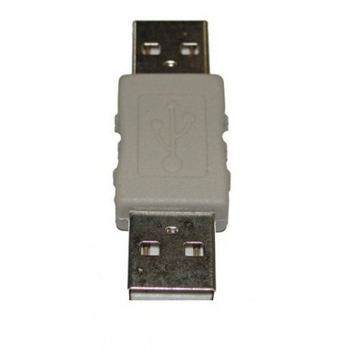 Adaptador USB macho para USB macho